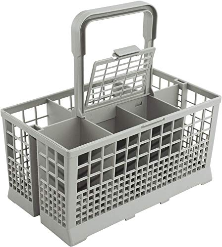 Dishwasher Silverware Cutlery Basket (9.5 x 5.4 x 4.8 inches) for utensils Compatible with most brands