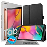 Samsung Galaxy Tab A T515 10.1' (WiFi + Cellular) 4G LTE GSM International Version 32GB Tablet Bundle with Case, Screen Protector, Stylus and 32GB microSD Card [Gold]