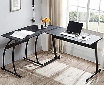 Fru L Shaped Double Computer Desk