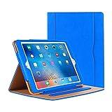 iPad Air Hülle - iPad PU Leder Smart Schutzhülle Cover Hülle mit Ständer Funktion & Auto-Einschlaf/Aufwach für Apple iPad Air/Neu iPad 9.7 (5th Generation) 2017 (blau)