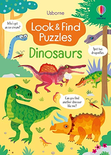 Look and Find Puzzles Dinosaurs