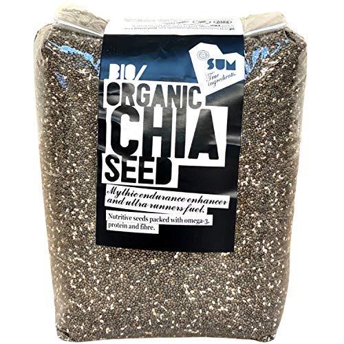Organic Chia Seeds | Raw | Eco Packaging - 1Kg