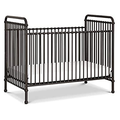 Million Dollar Baby Classic Abigail 3-in-1 Convertible Crib in Vintage Iron by Franklin & Ben