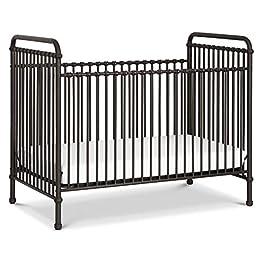 Million Dollar Baby Classic Abigail 3-in-1 Convertible Iron Crib, Vintage Iron