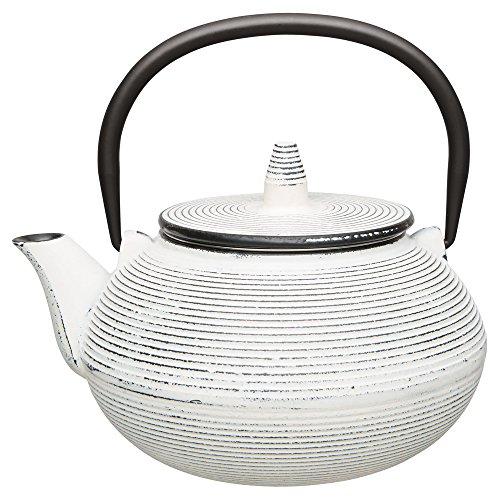 Berghoff japanischen Gusseisen Teekanne, 750ml, weiß