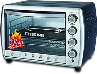 Nikai Electric Oven 65 Litre, Silver - NT6500SRC1
