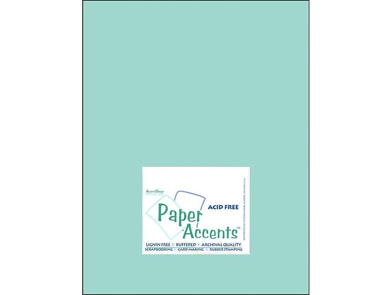 Accent Design Paper Accents Cdstk Muslin 8.5x11 74# Mediterranean