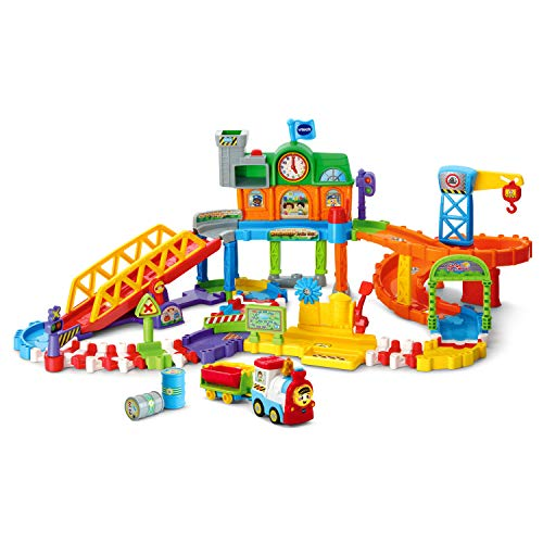VTech Go! Go! Smart Wheels Roadmaster Train Set, Multicolor