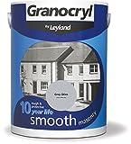 Leyland 386479 Granocryl Smooth Masonry, Grey Skies, 5 Litre