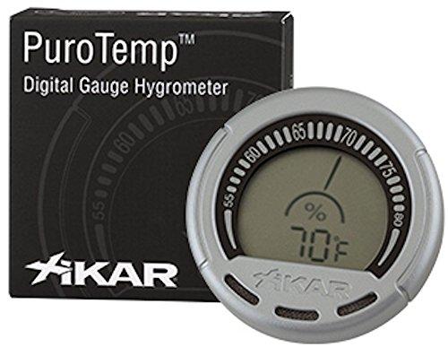 Hygrometer PuroTempTM von Xikar - Digital-Messgerät, Hygrometer für Zigarren-Humidore magnetisch, in neuer Verpackung