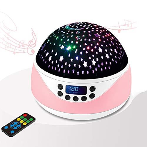 CHBHDE LED Projektor Sternenhimmel Lampe, mit Fernbedienung, 360 ° Drehbar LED Nachtlicht, Perfekt für Party Weihnachten Ostern-S6