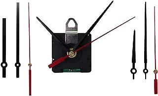LoveinDIY DIY Atomic Radio Controlled Ticking Quartz Wall Clock Movement Mechanism Kits with 3 Pairs Long Hands