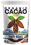 Happy Andes Organic Cacao Powder 1 lb - All-Natural, Single Source Peruvian Beans - For Hot Chocolate, Baking & Smoothies - Rich in Antioxidants, Nutrients, Flavanols - Non-Gluten & USDA-Certified -  Colorexa USA corp