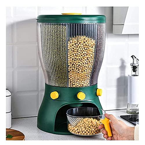 ZHJIUXING SF Dispensador De Cereales, Copos De Maíz Y Cereales Dispensadores De Muesli, Dispensadores De Cereales 4 En 1, Dispensadores De Copos De Maíz Sellados
