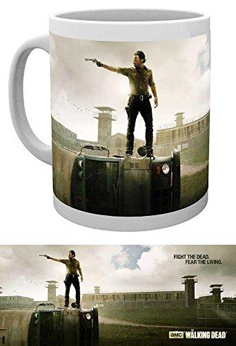 empireposter Walking Dead - Prison - Keramik Tasse - Größe Ø8,5 H9,5cm