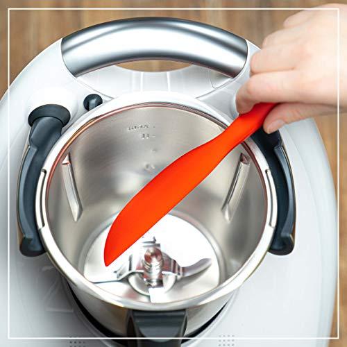 coolina® Spatel aus Silikon passend für den Thermomix oder Monsieur Cuisine Connect