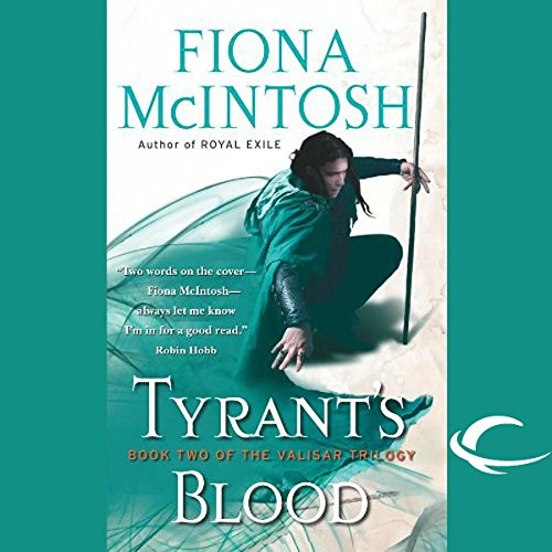 Tyrant's Blood audiobook cover art