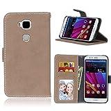 Ycloud Portefeuille Coque pour Huawei G8 Smartphone, Mate Texture PU Cuir Flip Magnétique Housse...