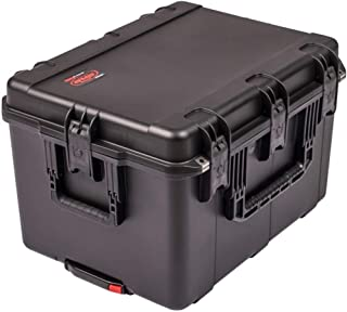 SKB Cases 3i-2317-14LT iSeries 2317-14 Case w/Think Tank Designed Liner, (10) Repositionable Nylex-Covered Foam Pads with Heavy Duty Hook-and-Loop Tabs, Built-in Wheels and Pull Handle