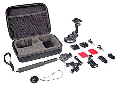 Bower Xtreme Action Series Action Mount 6-in-1 Sports Bundle for GoPro