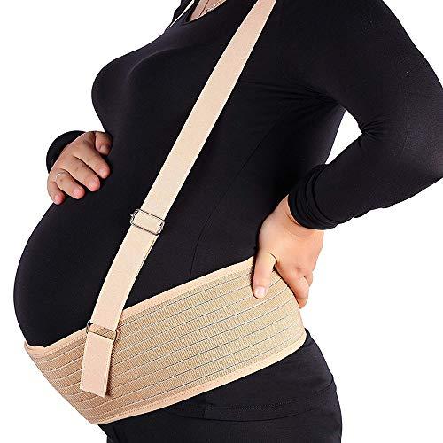 Cintura Premaman, Legatura Addominale Traspirante, Cintura Di Sostegno Pelvica E Dorsale Per La Gravidanza Con Tracolla Staccabile, Culla Prenatale Postnatale Per Donna