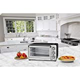 x positions - Cuisinart TOB-40FR Custom Classic Toaster Oven Broiler, Silver (Renewed)