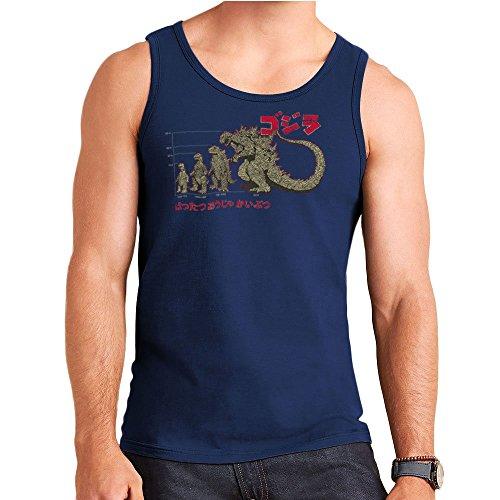 Evolution The King of Monsters Godzilla Men's Vest