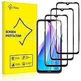 GiiYoon-3 Piezas Protector de Pantalla para Xiaomi Redmi Note 8T Cristal Templado,[Sin Burbujas] [Cobertura Completa] [9H Dureza] Vidrio Templado HD Protector Pantalla para Xiaomi Redmi Note 8T