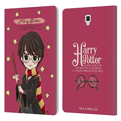 Head Case Designs Licenza Ufficiale Harry Potter Harry Deathly Hallows XXXVII Cover in Pelle a Portafoglio Compatibile con Galaxy Tab S4 10.5 (2018)