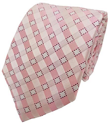 Silk Ties corbata de seda cajita 8 cm, Krawatten Seide Kästchen 8 cm Kiste 3:Rosa