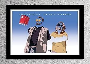 Big Lebowski The Dude Walter Donny - Original Minimalist Art Poster Print