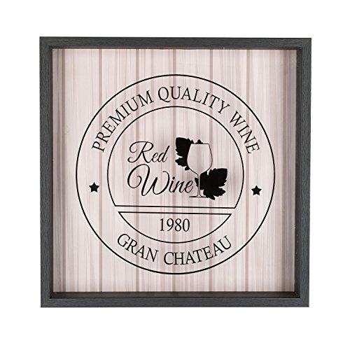 pajoma Korkensammler ''Red Wine'' aus Holz und Glas, H 35 cm