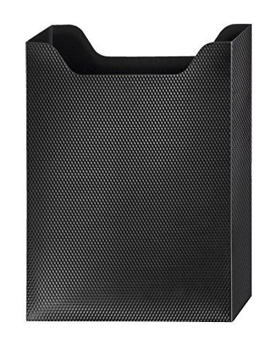 Veloflex 4443980 Velobag Box, DIN A4, Heft-Box für Schulranzen, 30 mm Füllhöhe, für Hefte u. Schnellhefter, schwarz