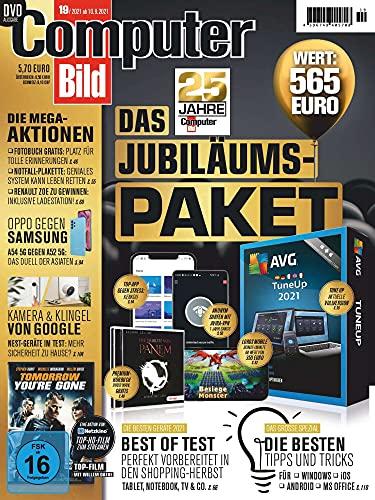 Computer Bild mit DVD 19/2021 'DAS JUBILÄUMS-PAKET'