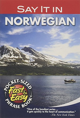 Say It in Norwegian (Dover Language Guides Say It Series)
