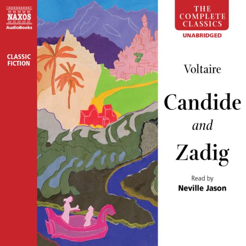 Candide and Zadig audiobook cover art