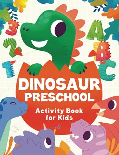 Dinosaur Preschool Activity Book For Kids Ages...