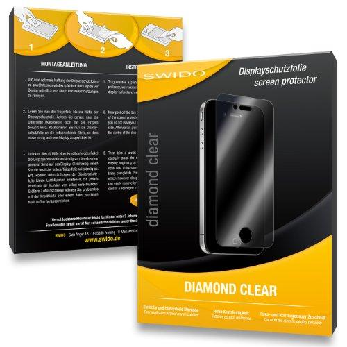 SWIDO 3 x Schutzfolie Wiko Stairway Bildschirmschutz Folie DiamondClear unsichtbar