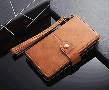 Pink PU Leather Wallet Flip Case for iPhone Xs Max Positive Cover Compatible with iPhone Xs Max