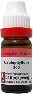 Dr. Reckeweg Germany Homeopathy Caulophyllum Thalictroides (200 CH) (11 ML) by Qualityexports