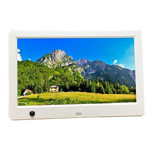 Álbum de Fotos electrónico multifunción de Alta definición Marco de Fotos Digital de 10 Pulgadas 1024 * 600 Pantalla LED HD de Alta resolución