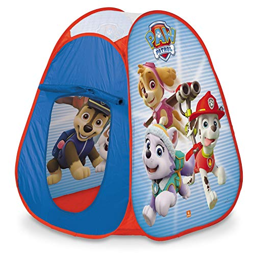 Mondo Toys - Paw Patrol Pop-Up Tent - Baby / Girl Play Tent - Easy to Assemble / Easy to Open - Carry Bag Included - 28388