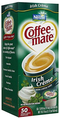 Coffee-mate Liquid Creamer Singles - Irish Creme - 50 ct