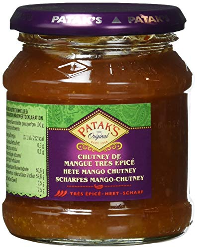 Patak`s Mango Chutney, scharf, 340 g