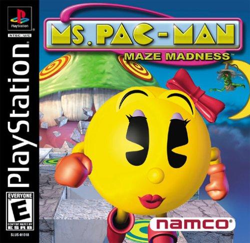 PS1 - MS Pac - Man Maze Madness [PAL ITA]