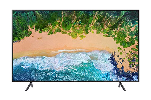 Samsung UN40NU7100FXZC 40' 4K Ultra HD Smart LED TV (2018), Charcoal Black [Canada Version]