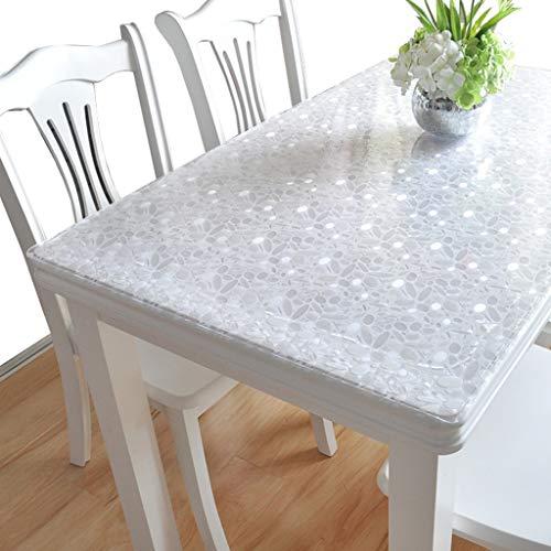 Ciein Home Nappe de table en PVC imperméable durable, PVC, Pavés, 70*120cm