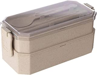 WCHCJ Box, Box Containers with Cutlery, Free, Leak Proof, Freezer & Dishwasher