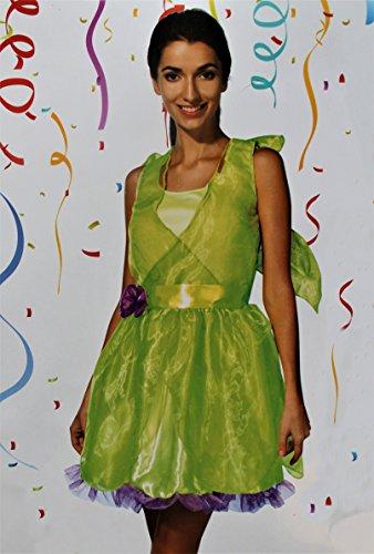 Kaufland Warenhandel GmbH & Co. KG Damen-Kostüm Elfe, einteilig, grünes Elfen-Kleid, Größe 40/42, M