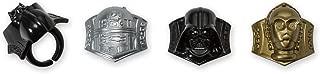 DecoPac Star Wars Darth Vader, R2-D2, C-3PO Cupcake Rings (24 Count)